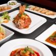 Assorted Spicy Thai Foods - Stockfoto