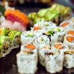 Sushi Rolls Variety — Stock Photo #10427541