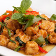 Thai Food Tofu Stir Fry — Stock Photo
