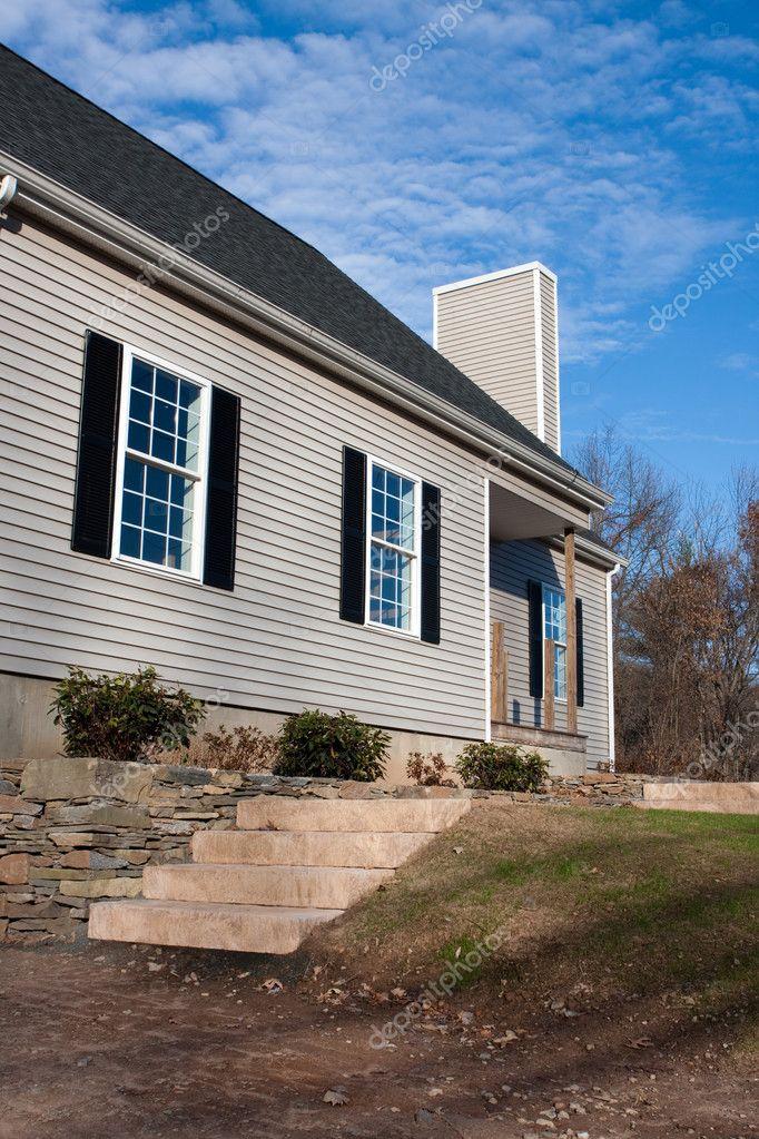 nouvelle construction maison dhabitation photographie arenacreative 10427556. Black Bedroom Furniture Sets. Home Design Ideas