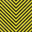 Construction Hazard Stripes — Stock Photo