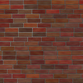 シームレスなれんが造りの壁 — ストック写真