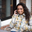 Cell Phone Conversation — Stock Photo #8227303
