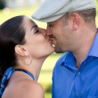 Royalty-Free Stock Photo: A Kissing Couple