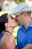 A Kissing Couple — Stock Photo