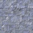 Slate Stone Wall Texture - Stock Photo