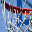 Basketball Hoop and Net - Stock Photo