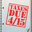 Tax Time - 