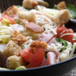 Stock Photo: Antipasto Chefs Salad