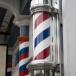 Barber Shop Pole — Stock Photo