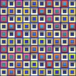 Colorful Squares Pattern — Stock Photo