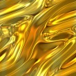Molten Gold Texture — Stock Photo