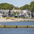Stock Photo: Beach Cottages