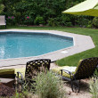Luxurious In Ground Pool — Stock Photo #8696472