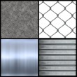 Metal Textures Collection — Stock Photo #8697275