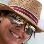 Smiling Spanish Woman — Stock Photo