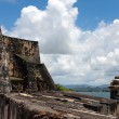 El Morro Fort Exterior — Stock Photo