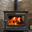 Wood Stove - Stock Photo