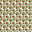 Green Olives Pattern — Stock Photo