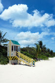 Flamenco Beach Lifeguard Tower — Stock Photo