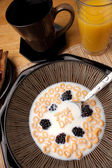 Tax Day Cereal Reminder — Stock Photo