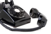 Old Vintage Telephone Off the Hook — Stock Photo
