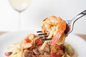 Shrimp Scampi — Stock Photo