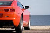 Современный спортивный автомобиль — Стоковое фото