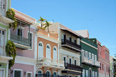 Colorful Old San Juan PR — Stock Photo