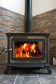 Wood Stove — Foto Stock