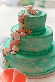 Tiered Wedding Cake — Stock Photo