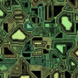 Stock Photo: Techno circuitry