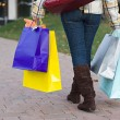 Pretty Girl Shopping — Stock Photo #8709555