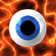 Cool 3d Eye — Stock Photo