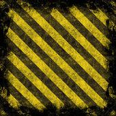 Hazard Stripes — Stock Photo