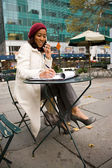 Business Woman In The City — Stock Photo