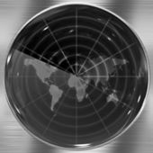 World Radar — Stock Photo