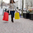 Pretty Girl Shopping — Stock Photo #8710065