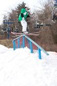 Freestyle Skiing — Stock Photo