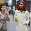 City Business Women — Stock Photo #8780403