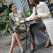Business Meeting in the City — Stock Photo