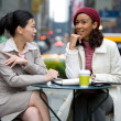 Business Meeting in the City — Stock Photo #8780416