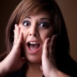 Surprised Woman — Stock Photo #8784589