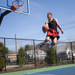 Skilled Basketball Player — Stock Photo #8785331