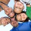 Happy Family Huddle — Stock Photo #8788635