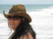 Spanish Beach Beauty — Stock Photo