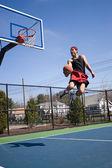 Skilled Basketball Player — Stock Photo
