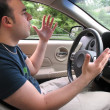 Road Rage Man — Stock Photo #8790527