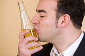 In Love With Beer — Stock Photo