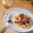 Shrimp Scampi — Stock Photo #8803668